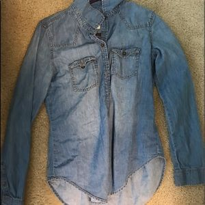 Jean jacket shirt